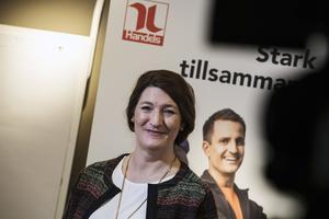 Susanna Gideonsson, förbundsordförande Handels.