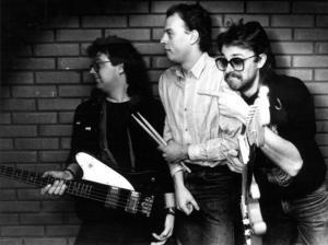 Tres Hombres originaluppsättning, Mats Grip, Micke Håkansson och Janne Berglund. Foto: ÖP:s arkiv