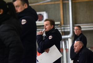 Jonas Norgren, tränare i Avesta BK.