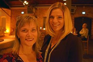Anna Svelander och Jenny Eljas var på Magasinet i Falun på lördagen.