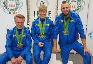Per Olhans, Ellinor Westling och Henric Lennmark-Appelbom. Foto: Privat.