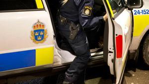 Kvinna greps misstänkt för stöld och misshandel