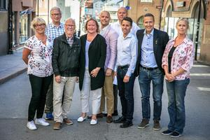 Gruppledarna för alla politiska partier i Norrtälje Kommun.