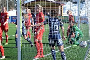 I den 89:e minuten tryckte Lova Lundin in reduceringen för Kvarnsveden.
