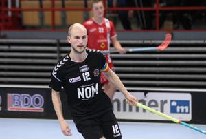 Jonathan Lundkvist gjorde 1+2 mot Lockerud Mariestad.