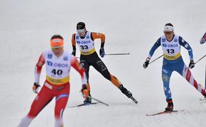 22:a-platsen i Falun gav Moa Olsson hennes första världscuppoäng någonsin.