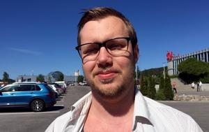 Mattias Danielsson, 30 år, fabriksarbetare, Huljen