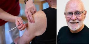 Kåsören Kurt-Göran Öberg skriver i dag om sin efterlängtade vaccinspruta. (Arkivfoto)