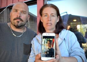 Angelica Johansson och sambon Andreas har fått ett livstecken, en ny bild på Nathalie som lagts ut på Facebook.