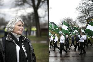 Det var i samband med NRM:s 1 maj-firande i Borlänge som Vera Oredsson ska ha gjort en så kallad Hitlerhälsning. Något som Svea hovrätt friade henne för på måndagen.