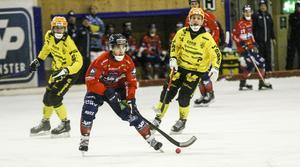 Tuomas Määttä gjorde inte någon av sina allra mest färgstarka matcher – men bjöd ändå på derbyts mest glänsande ögonblick.
