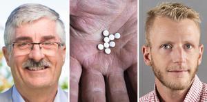 Med hjälp av välfärdsteknik, exempelvis läkemedelsautomat, ska äldre få större självständighet, skriver Thomas Bäuml och Simon Löfgren.