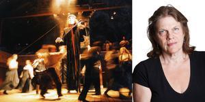 Ingen som jag, om spelmannen From-Olle, är en av de föreställningar på Träteatern med Folkteatern Gävleborg, som Karin Kämsby gärna minns.