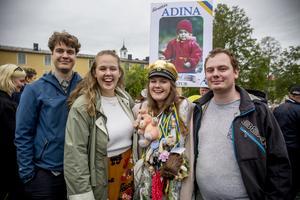 David, Hanna, Adina och Isak Brännström har alla vunnit Guldmössan.