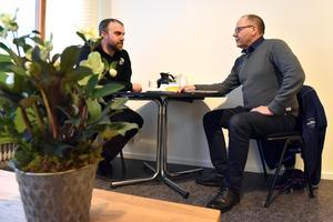 Lars Olof Olsson berättar att Orsa lokaler AB varit väldigt hjälpsamma när han skulle etablera sig i Orsa och tog över en lokal på Järnvägsgatan.