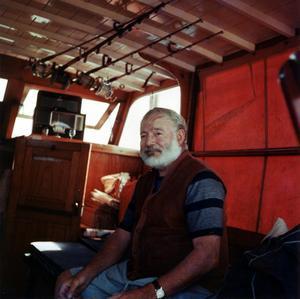 Ernest Hemingway 1950.Foto:  Ermeni Studios,