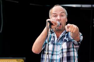 Mats Eriksson i bandet Strange Brew