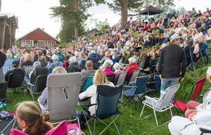 Arrangemanget drog en stor publik till hembygdsgården i Färila.