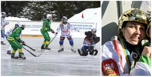 Galina Michailova och Olga Rodionova är de ryska stjärnorna i Skutskär – som i helgen spelar mot sin svenska klubb. FOTO: LARSGÖRAN SVENSSON/DANIEL SANDSTRÖM