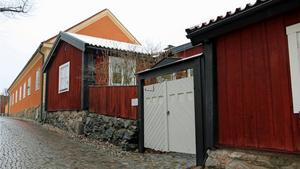 Kyrkbacken är en rest av det gamla Västerås.Foto: Helena Bergenhamn