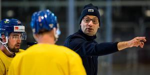 Peter Popovic, assisterande förbundskapten i Tre Kronor. Bild: Ludvig Thunman/Bildbyrån