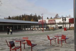 Det nya Bäckby centrum.