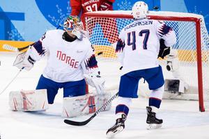 Henrik Haukeland och Norge tog sig till kvartsfinal i OS. Det hade norrmännen aldrig gjort tidigare. Foto: Jon Olav Nesvold / BILDBYRÅN.
