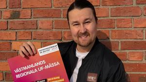Johan Eliases, Regionchef, Ung Företagsamhet Västmanland. Foto:  Ung Företagsamhet