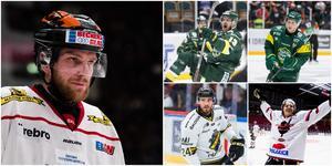 Spelare som går att jämföra med två av SSK:s hetaste talanger: Tom Wandell – jo, faktiskt –  Fredric Andersson, Emil Lundberg, Jacob Dahlström och Gustav Björklund. Foto: Bildbyrån.
