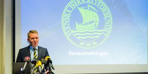 Anders Larsson, ordförande Svenska ishockeyförbundet. Foto: Bildbyrån