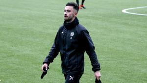 Förutom att spela i ÖSK så spelar Simon Amin även i Syriens U23-landslag. Arkivfoto: Fredrik Carlsson/NA