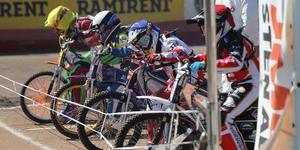 250cc-serietävlingen i Hallstavik fick ställas in i helgen då ingen ambulans fanns på plats. Bilden är från USM-finalen i juli.