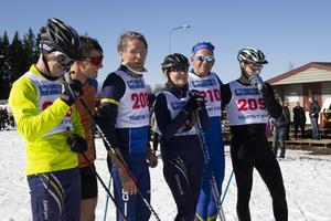 Mats Mattes, Johan Norell, Lennart Ingesson, Catharina Ehlton, Peter Åkesson och Stefan Hedlund startade i VPG 2019.