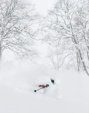 Japansk pudersnö är berömd bland skidåkare. Bild: Erik Nylander