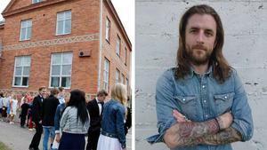 Per-Ewert Ohlsson Björk (C) är en av de politiker som anser att den senaste tidens elevflyttar bör lyftas till politisk nivå.