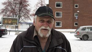 Sture Åberg, 83 år, pensionär, Timrå.