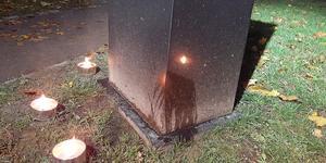 För mig är det som att någon/några låter sin/sina hundar pissa på en gravsten, jo det är en minnessten även för de veteraner som inte fick komma tillbaka hem vid liv, utan i en kista, skriver Jan Strömberg.