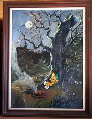 Bobo skapade Lars Mortimer under tiden hos serieförlaget Semic, som äger rättigheterna till seriefiguren. Bobo var tänkt att bli en konkurrent till populära seriefiguren Bamse och första serietidningen med Bobo kom 1977.