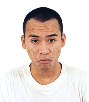 Bild från polisens utredning. 28-årige Joe Niyomwat mördades i mc-lokalen i Hosjö 2004, men kroppen har aldrig hittats.