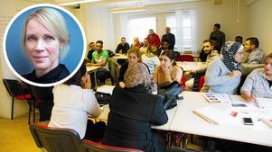Saila Quicklund (M) skriver om språkkrav för invandrare.