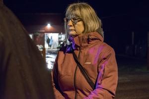 Kommunalrådet Karin Örjes (C) tog in de närboendes vittnesmål.