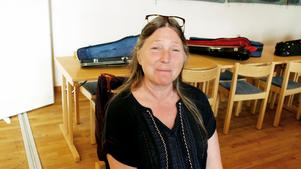 Marit Viberg  från Docksta har spelar med Stråk för alla nästan från början