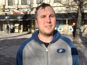 Kristoffer Henriksson, 33, elektriker, Sundsvall: