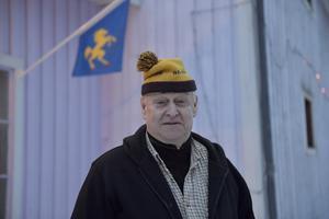 Holger Persson, mer känd som Skröder, från  Särna fyller 75 år.