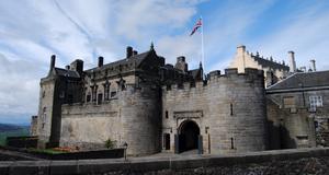 Stirling Castle har utsetts till Storbritanniens mest populära kulturarv.