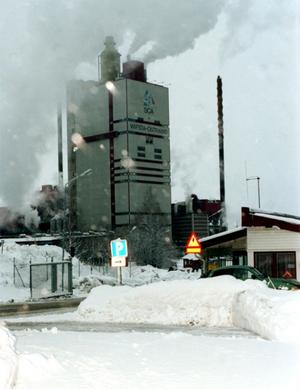 Wifsta i Timrå var Medelpads första sulfatfabrik.