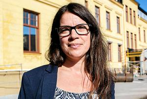 Sara Mattsson, rektor Wendela Hellmanskolan.