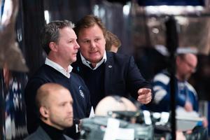 Leif Carlsson och Jens Nielsen – en succéduo för LIF? Foto: Bildbyrån.