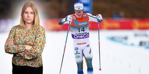 Jens Burman var bästa svensk för dagen. Ett styrkebesked! Sportens Camilla Westin listar fem heta punkter från herrarnas 15 fritt i Davos. Bilden är ett montage.