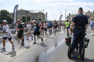 Foto: TT - Stockholm maraton 2018.